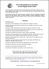 United Nations Rights of The Child