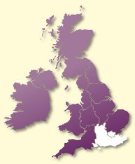 Protective Behaviours Trainers UK map - London South East