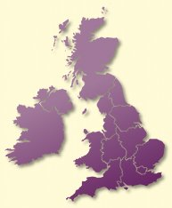 Protective Behaviours Trainers UK map